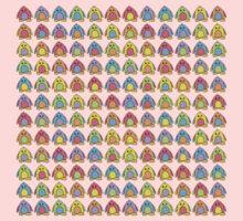 Rainbow Penguins Kids Clothes