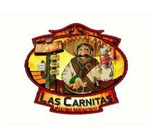 Las Carnitas Art Print