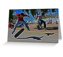 Skater Boyz Greeting Card