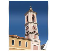 Nizza - Clock Tower of the Rusca Palace Poster