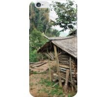 Hmong Ethnic Fire Wood House iPhone Case/Skin