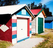 Dromana Boat houses by Rosina  Lamberti