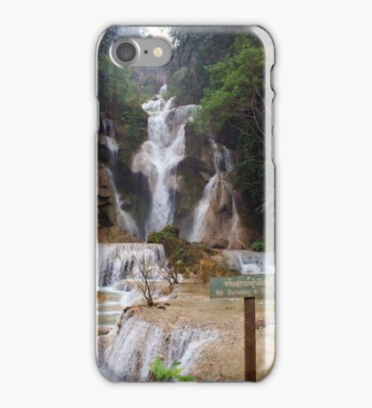 Lua Prabang Waterfall-Laos/Hmong iPhone Case/Skin
