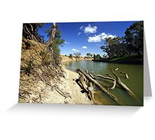 Murrumbidgee River at Hay Greeting Card