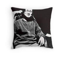 Axin-portrait of an artist Throw Pillow