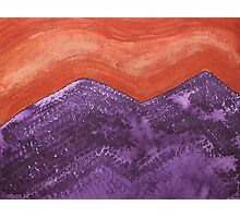 Mountain Majesty original painting Photographic Print