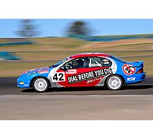 Ian Chivas - Kumho Aust Saloon Car Series Photographic Print