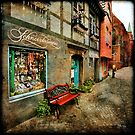 Schnoor Shop Window by Manfred Belau
