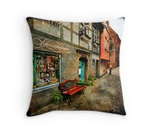 Schnoor Shop Window Throw Pillow