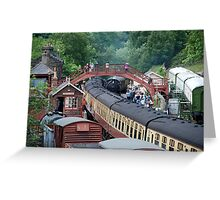 NYMR - Goathland Station Greeting Card