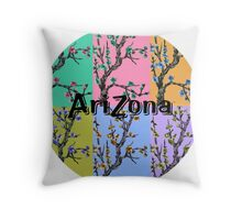 Arizona Background Throw Pillow