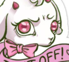 Bleat Off! Sticker