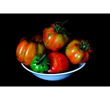 Salad Bowl Photographic Print