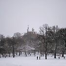 Greenwich Park and Observatory by Karen Martin