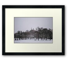 Greenwich Park and Observatory Framed Print