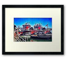 Portsmouth Icons Framed Print