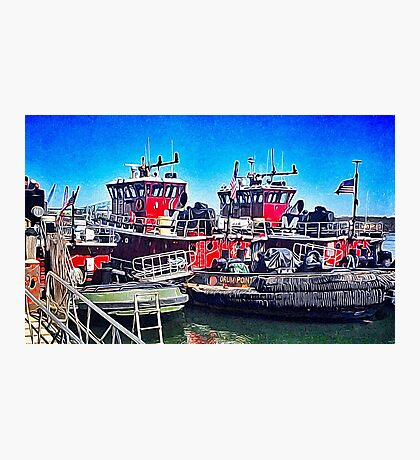 Portsmouth Icons Photographic Print
