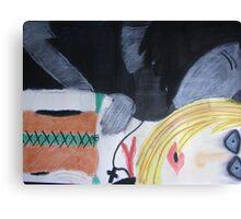 Kiss To Kill Canvas Print