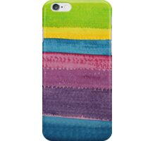 Stripes original painting iPhone Case/Skin