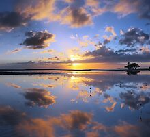 Nudgee Beach sunrise by David James