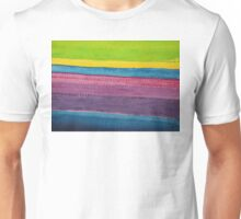 Stripes original painting Unisex T-Shirt