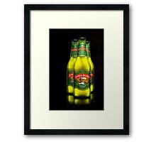 3 Bottles of beer on the wall, 3 bottles of beer,..... Framed Print