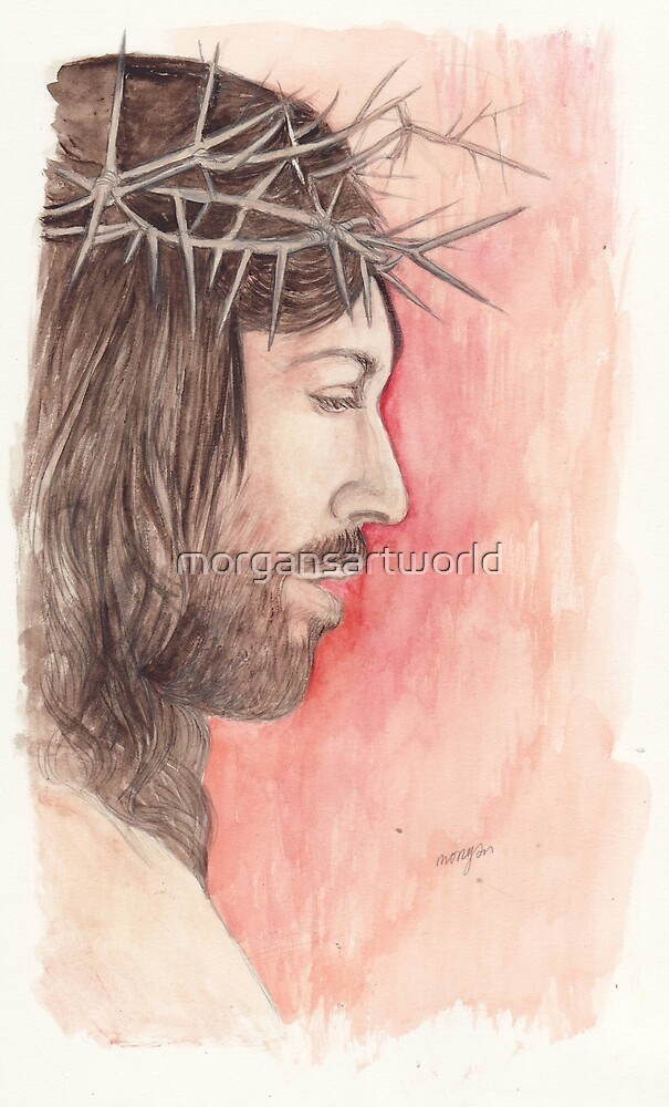Crown of Thorns by morgansartworld