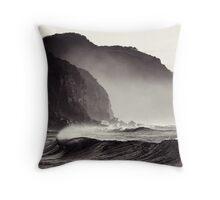 Coalcliff at Dawn Throw Pillow