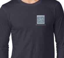 Respect International Logo Small  Long Sleeve T-Shirt