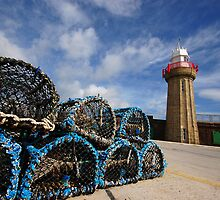 Lobster pots by Jim Dempsey