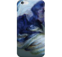 twisted, spent and oh so blue... iPhone Case/Skin