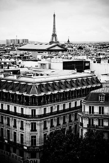 Paris Skyline by Brett Still