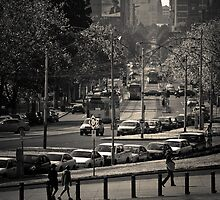 St Kilda Road, Melbourne  by Christine  Wilson Photography