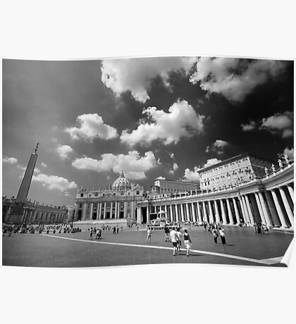 St. Peters Square Poster