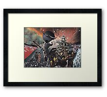Door to Great Imagination Framed Print
