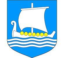 Saaremaa Coat of Arms Photographic Print