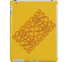 Clockwork Orange on Orange iPad Case/Skin