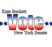Kate Beckett for NY state Senate by MsThomEGemcity