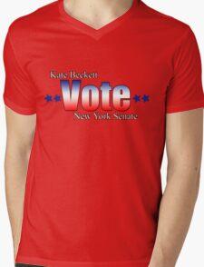 Kate Beckett for NY state Senate Mens V-Neck T-Shirt