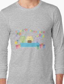 Happy Cat Birthday! Long Sleeve T-Shirt