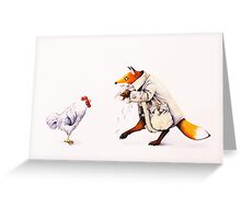 Sprung!  Greeting Card