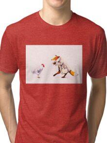 Sprung!  Tri-blend T-Shirt