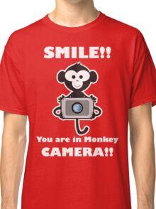 funny t-shirt Monkey Photo Classic T-Shirt
