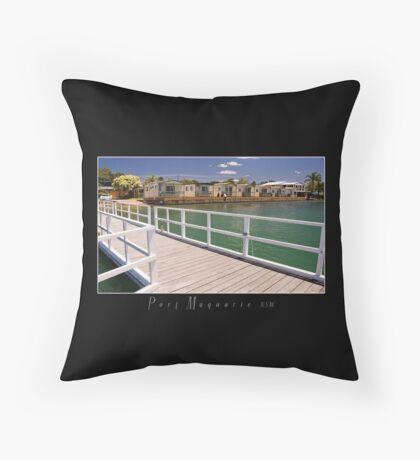 Aquatic Park Port Macquarie Throw Pillow