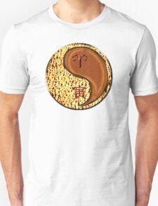 Aries & Tiger Yang Wood T-Shirt