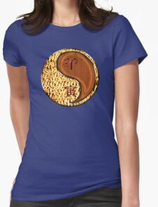 Aries & Tiger Yang Wood Womens Fitted T-Shirt