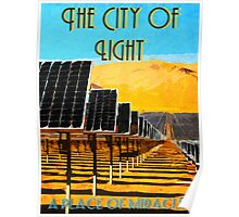 The 100 - Vintage Travel Poster (The City of Light) Poster