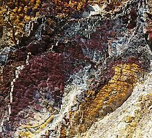ochre cliff by Clare McClelland