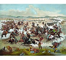 Custer's Last Stand Photographic Print