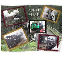 Age Of Steam..Collage Poster